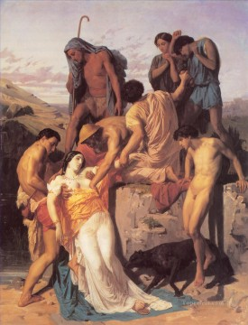 Zenobia Found by Shepherds William Adolphe Bouguereau nude Oil Paintings