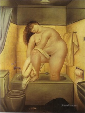 Tribute to Bonnard Fernando Botero nude Oil Paintings
