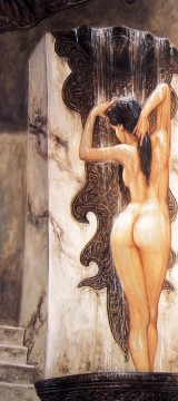 Photos Oil Painting - dome bathing nude from photos