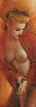 Photos Oil Painting - nd0390GD realistic from photos women nude