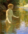 Enchanted Pool Impressionist nude Edward Henry Potthast