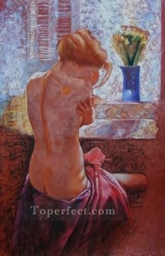 nd009eB impressionism female nude Oil Paintings
