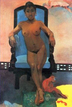 Aita Tamari vahina Judith te Parari Annah the Javanese Paul Gauguin impressionism nude Oil Paintings