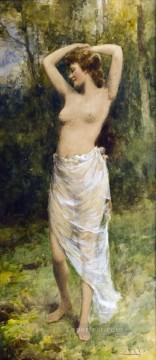 impressionist impressionism Painting - Bathing Beauty Alfred Glendening JR impressionism nude
