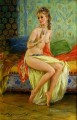 Beautiful Girl KR 029 Impressionist nude