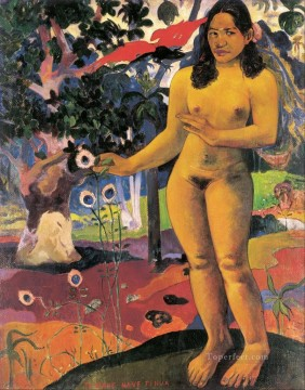 Delightful Land Paul Gauguin nude impressionism Oil Paintings