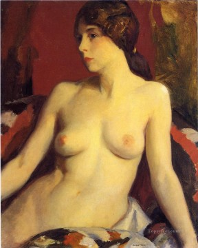 Mata Moana nude Robert Henri Oil Paintings