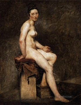 Nude and Ballerina Painting - Mlle Rose Romantic Eugene Delacroix