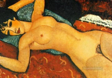 Nude Sdraiato modern nude Amedeo Clemente Modigliani Oil Paintings