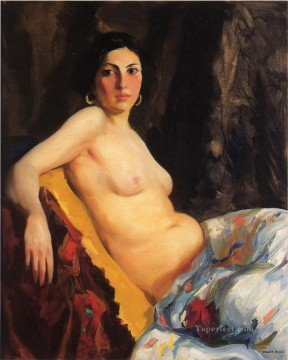 Orientale nude Robert Henri Oil Paintings