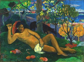 Te arii vahine The King s Wife Post Impressionism Primitivism Paul Gauguin impressionism nude Oil Paintings
