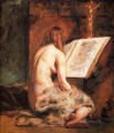 The Penitent Magdalen female body William Etty