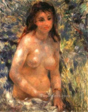 Pierre Works - nude in the sunlight Pierre Auguste Renoir