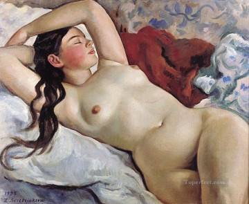 reclining nude 1935 1 modern contemporary impressionism Oil Paintings