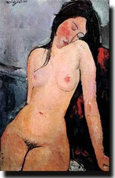 Modigliani Art Painting - yxm106nD modern nude Amedeo Clemente Modigliani