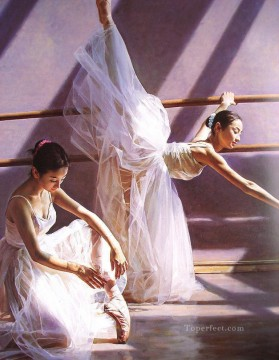 Ballerina Guan Oil Paintings