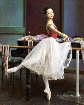 Ballerina Guan Zeju04 Oil Paintings