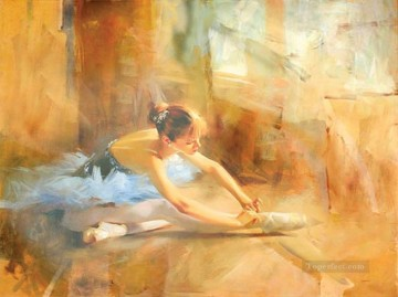 Nude Ballet Painting - Ballet dancer Tom Benkendorff