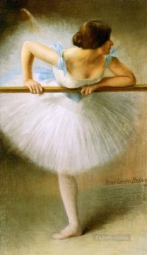 Nude Ballet Painting - La Danseuse ballet dancer Carrier Belleuse Pierre