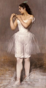 ballet Painting - The Ballerina ballet dancer Carrier Belleuse Pierre