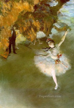 Nude Ballet Painting - The Star2 Impressionism ballet dancer Edgar Degas