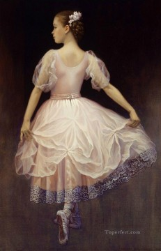 Impressionism Painting - ballet girl