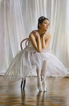 ballet Painting - ballet in white