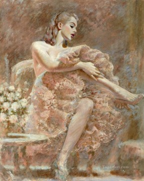 Dancing Ballet Painting - dramaticpoison Ballet
