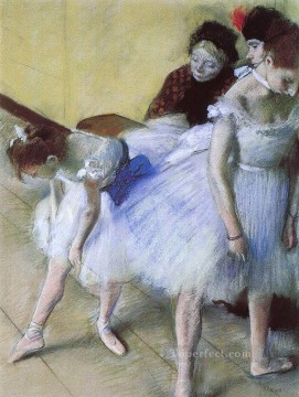 Nude Ballet Painting - The Dance Examination Impressionism ballet dancer Edgar Degas