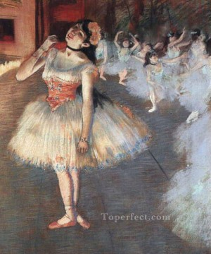 Nude Ballet Painting - The Star Impressionism ballet dancer Edgar Degas