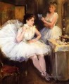 the ballet dancers aka the dressing room Willard Metcalf