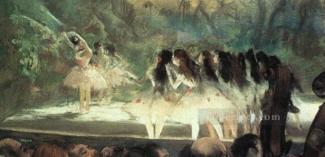 hero beijing opera jacky chen Painting - Ballet at the Paris Opera Impressionism ballet dancer Edgar Degas