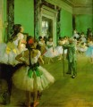 dance class Impressionism ballet dancer Edgar Degas