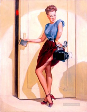 Make Art - Elvgren This ought to make a good shot 1948 pin up