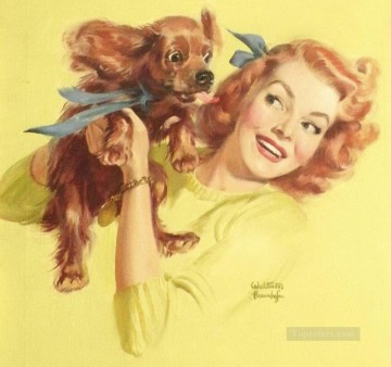 Pin up Painting - Gil Elvgren pin up 07
