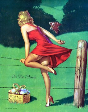 Gil Elvgren pin up 18 Oil Paintings