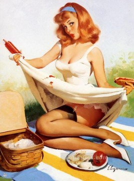 Pin up Painting - Gil Elvgren pin up 19