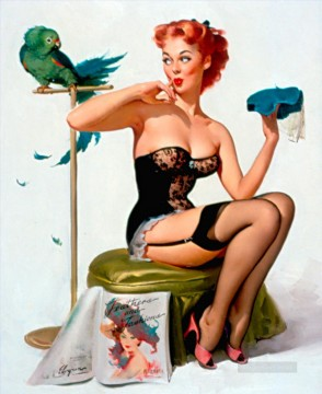 Pin up Painting - Gil Elvgren pin up 20