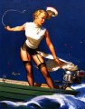 Gil Elvgren pin up 21