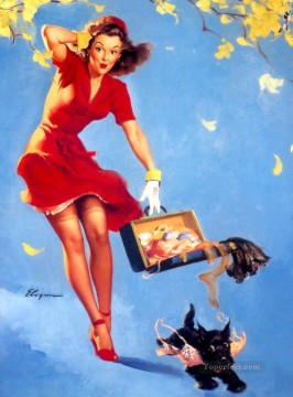 Gil Elvgren pin up 27 Oil Paintings