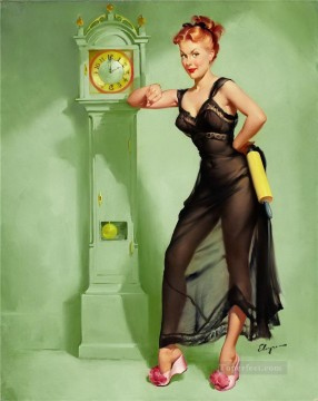 Pin up Painting - Gil Elvgren pin up 33