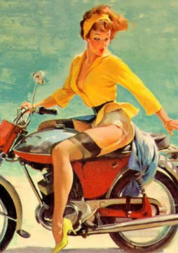 Pin up Painting - Gil Elvgren pin up 39