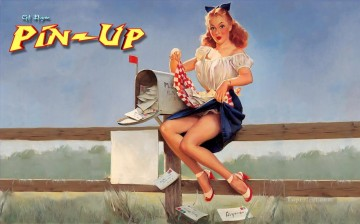 Pin up Painting - Gil Elvgren pin up 41