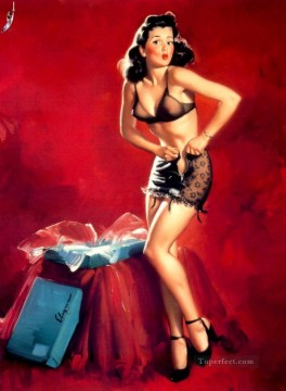 Pin up Painting - Gil Elvgren pin up 43