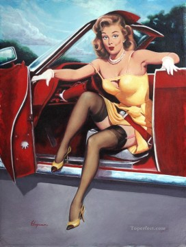 Pin up Painting - Gil Elvgren pin up 46