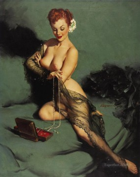 Gil Elvgren pin up 54 Oil Paintings
