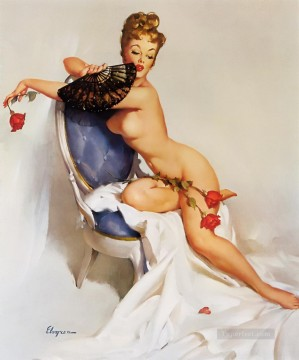Pin up Painting - Gil Elvgren pin up 57