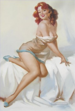 Pin up Painting - Gil Elvgren pin up 63