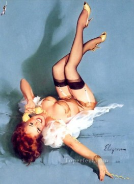 Pin up Painting - Gil Elvgren pin up 65