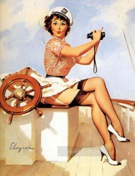 Pin up Painting - Gil Elvgren pin up 70